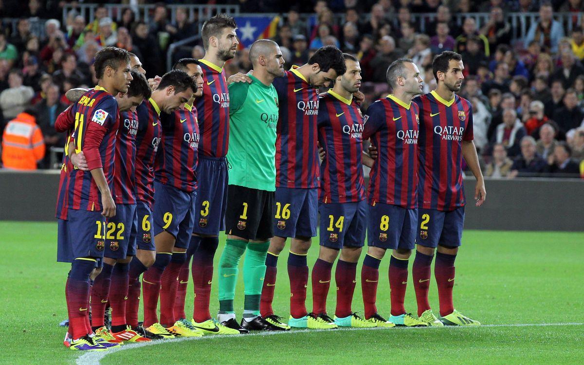 RCD Espanyol v FC Barcelona: For you, Víctor