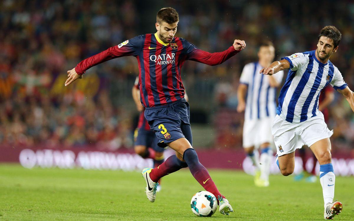 El Barça-Reial Societat de Copa, últim partit amb el carnet de soci 2013