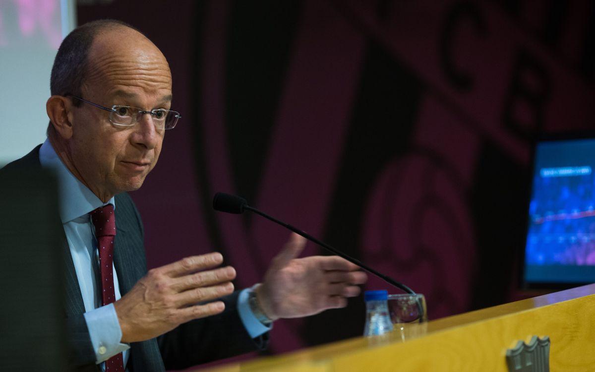 DIRECTE - Presentació del reglament del referèndum del Nou Espai Barça