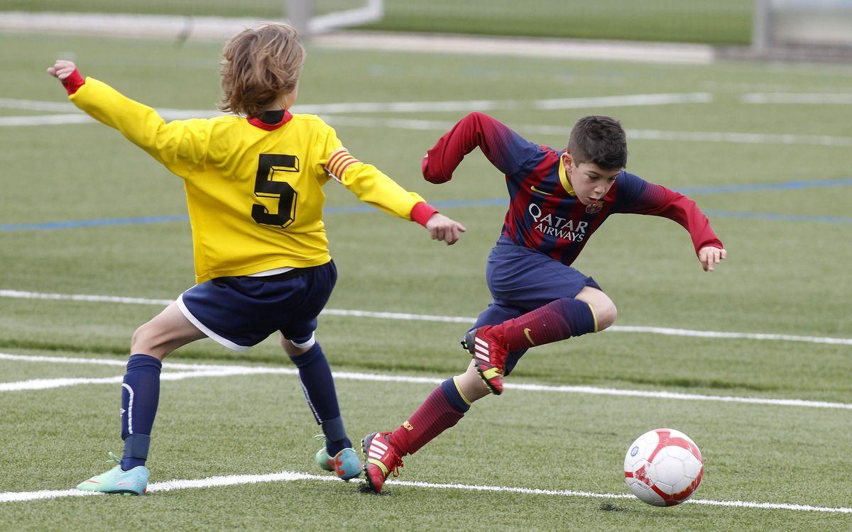 Gran cap de setmana del futbol formatiu del FC Barcelona