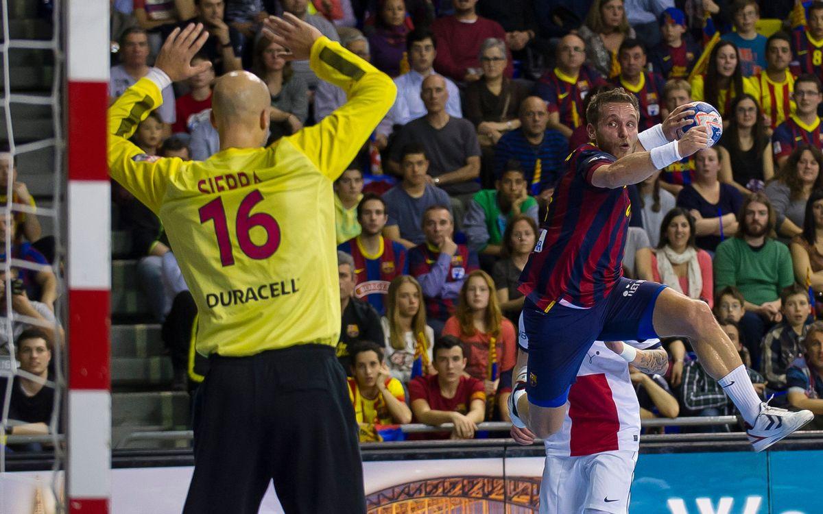 Aalborg - FC Barcelona: Los cuartos, más cerca (22-29)