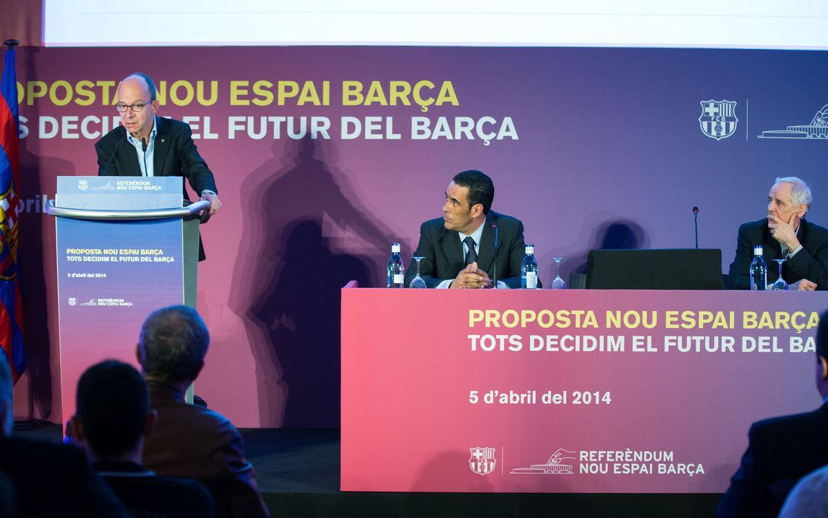 Compromís amb els socis de la llista d'espera d'abonaments al Camp Nou