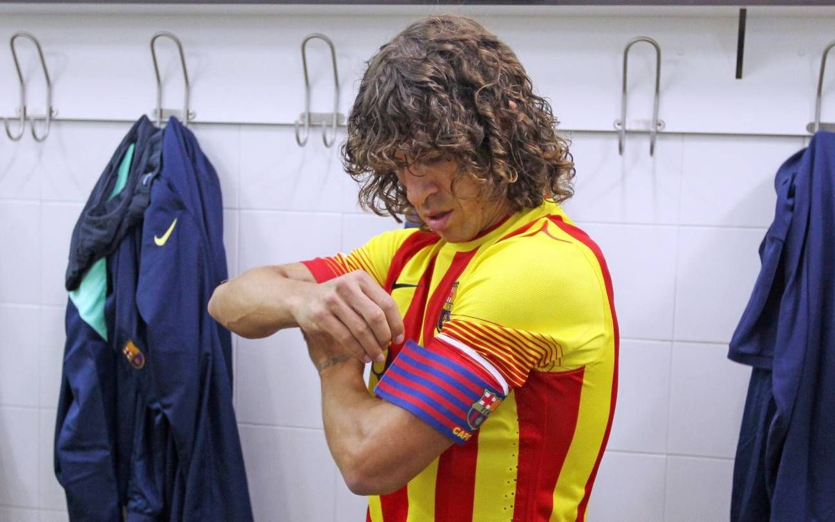 Carles Puyol announces he is leaving FC Barcelona at the end of the season