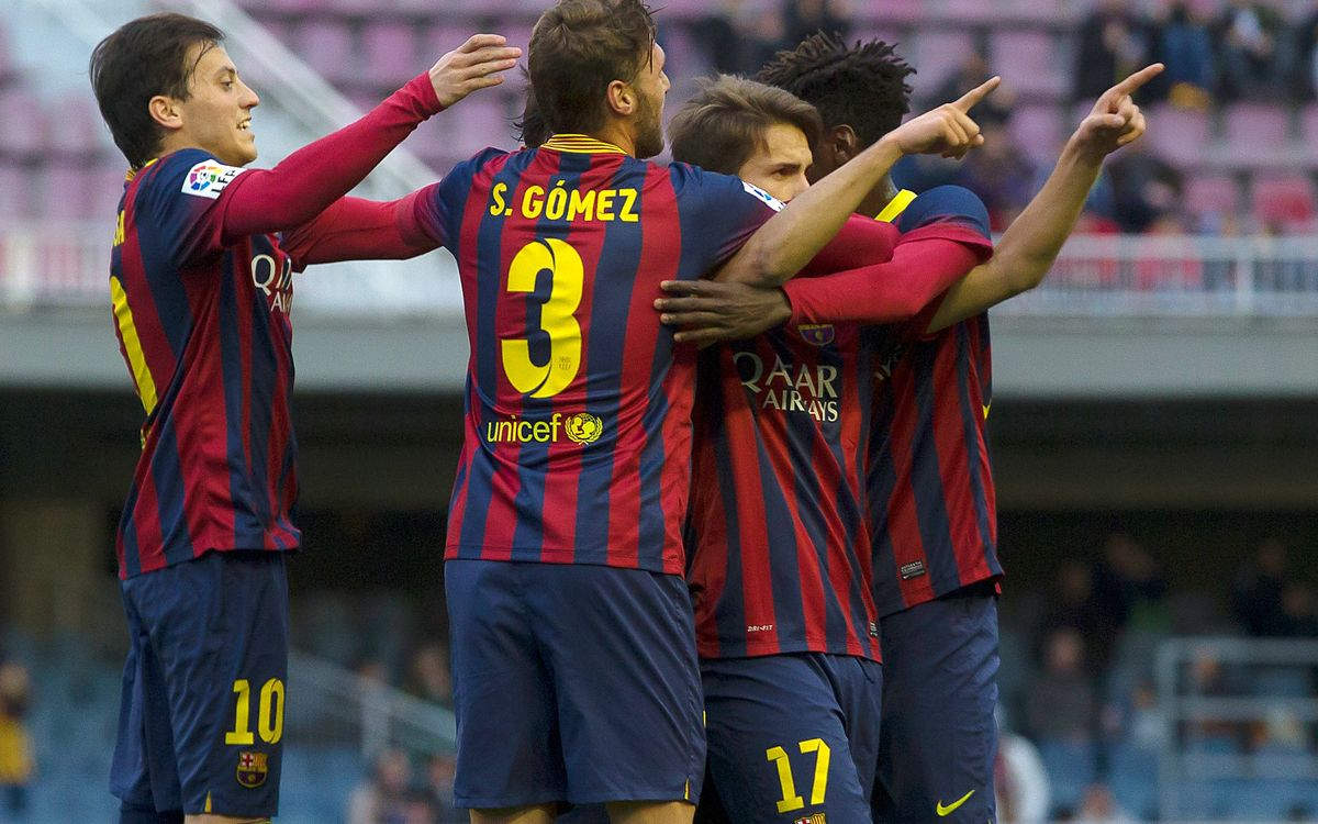 Barça B defeat Tenerife thanks to two beautiful goals (2-0)
