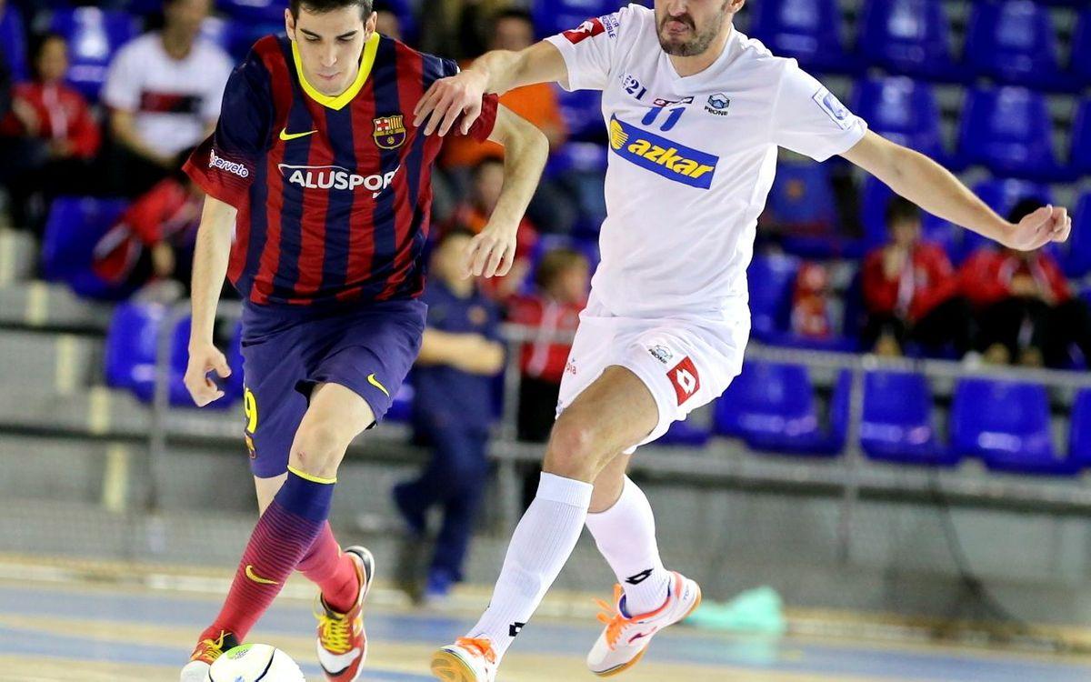 El jove Adrián Ortego, una de les joies del Barça Alusport