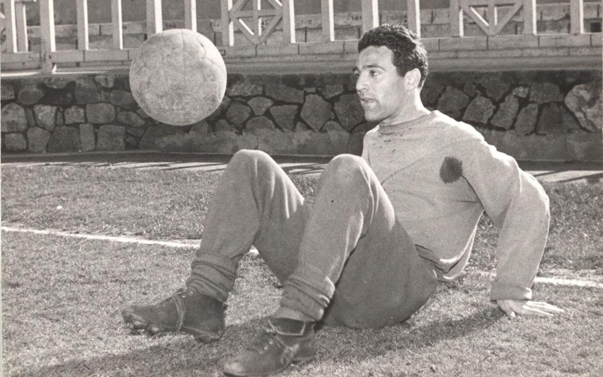 Mor Enric Ribelles, davanter del Barça dels anys 50
