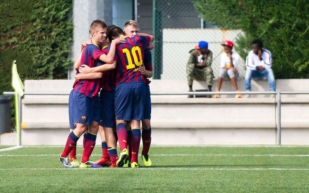 LIVE! FC Barcelona v Manchester City (Al Kass under-16 International Cup)