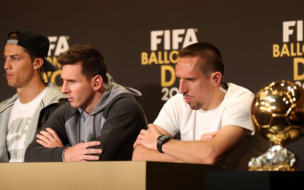 Les votacions de la FIFA Pilota d'Or 2013, al detall