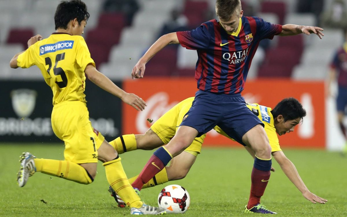 Cadete A qualify for the quarter-finals after drawing with Kashiwa Reysol