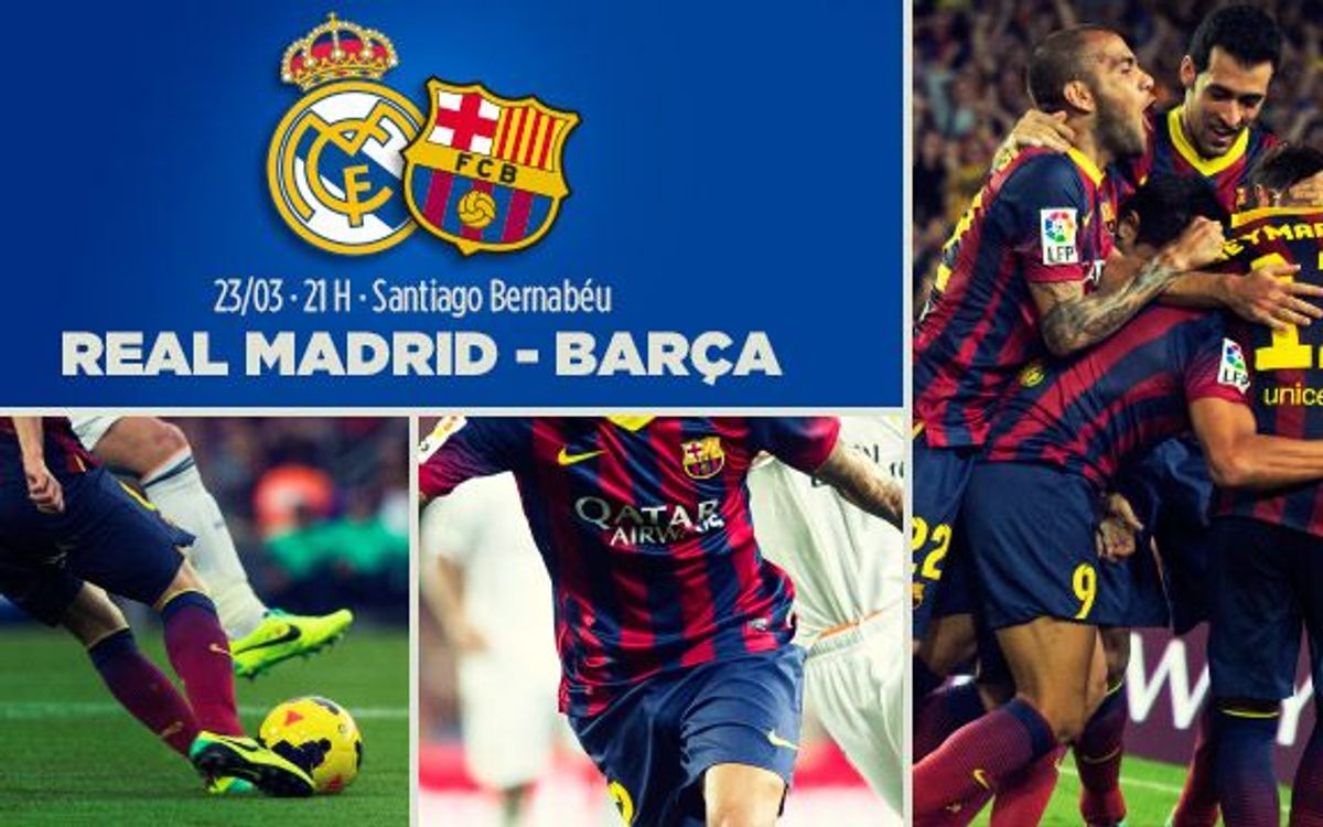 Tickets for Madrid v Barça in La Liga, available from Tuesday