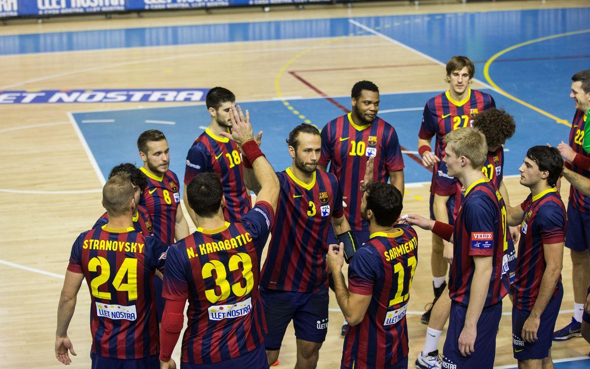 Un febrer boig per al FC Barcelona d'handbol