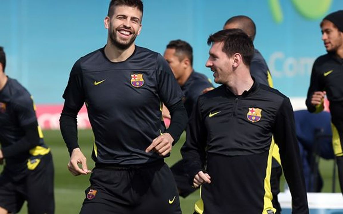 Inside view of how FC Barcelona prep for the Champions League clash with Manchester City