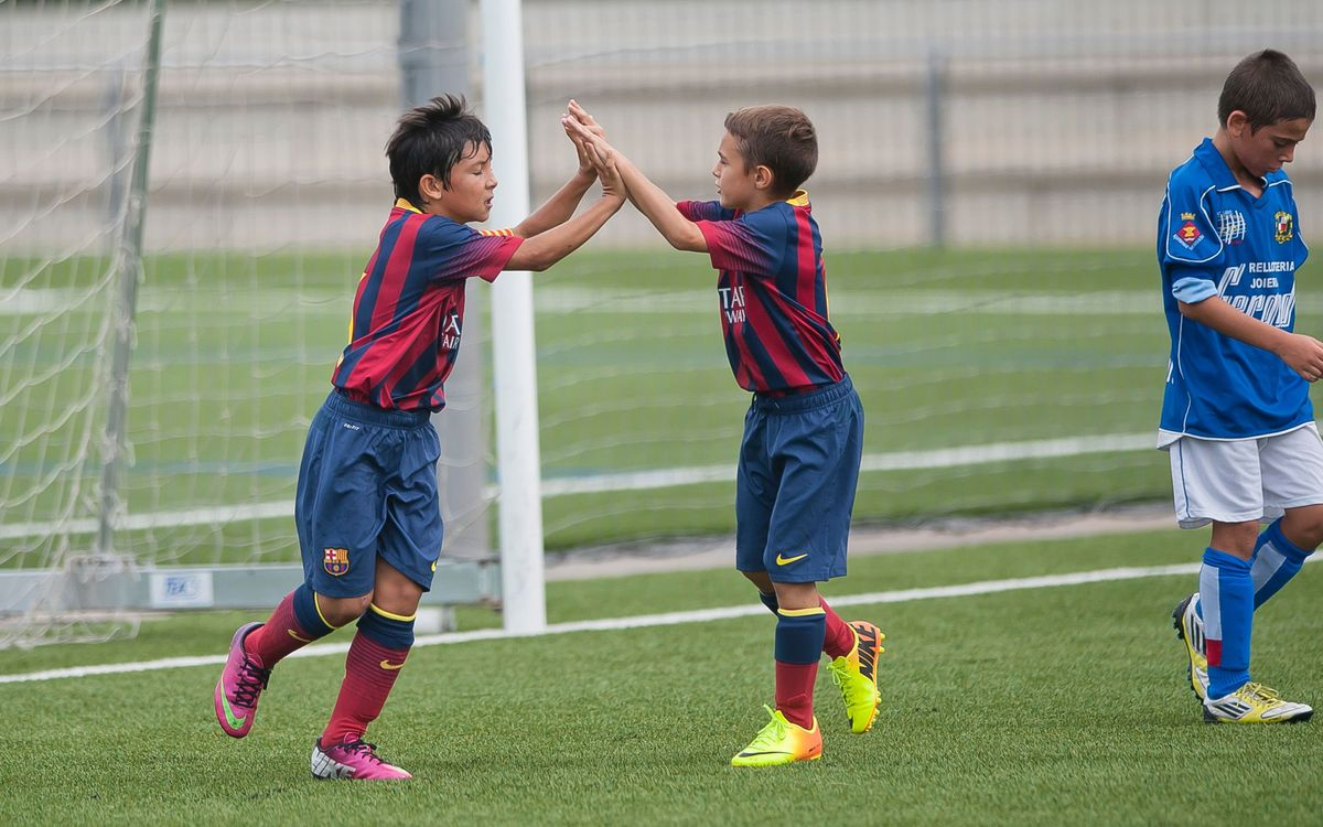 Five top-shelf goals from La Masia players