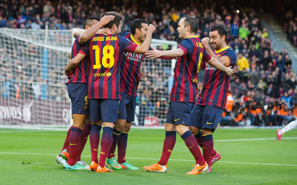 FC Barcelona close to seventh semi-final Cup berth in eight years