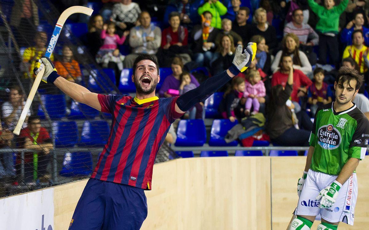 FC Barcelona – HC Coinasa Liceo: Més líders que mai (4-2)