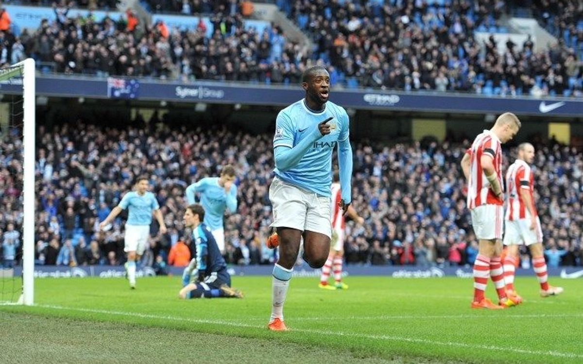 Touré dóna el triomf al City