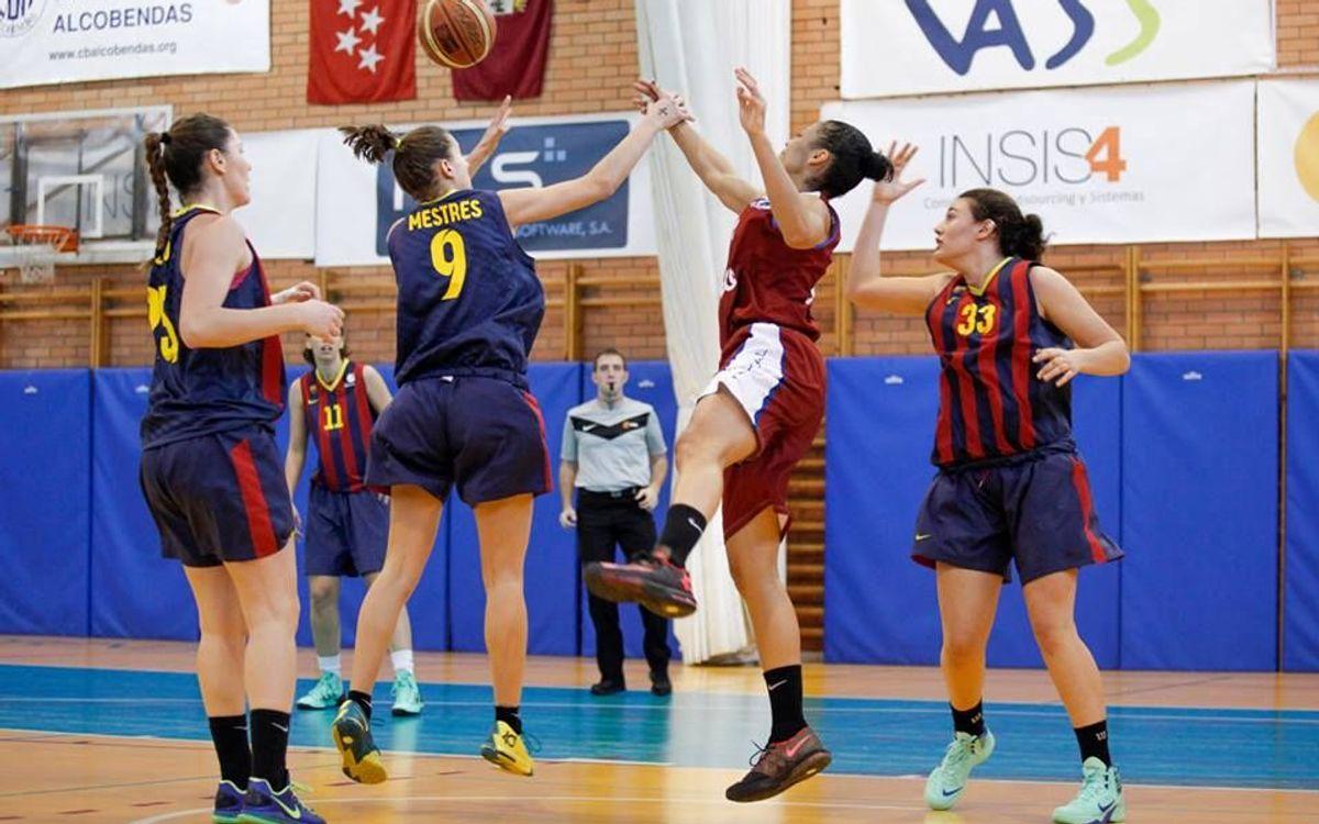 Sense opcions a Alcobendas per al bàsquet femení blaugrana (85-43)