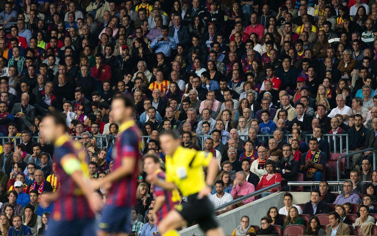 La Junta assigna 319 abonaments del Camp Nou als socis de la llista d'espera