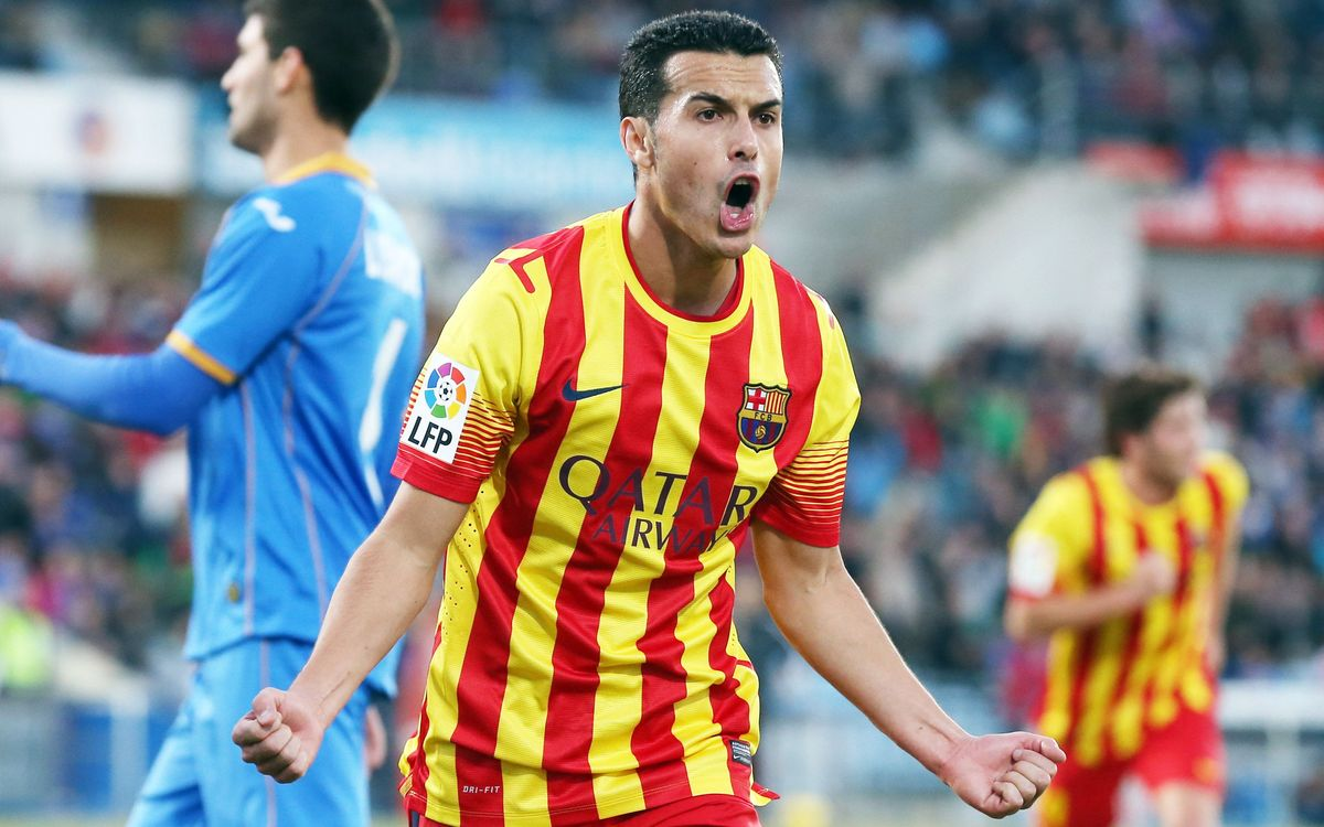 Pedro nets his second hat-trick for FC Barcelona