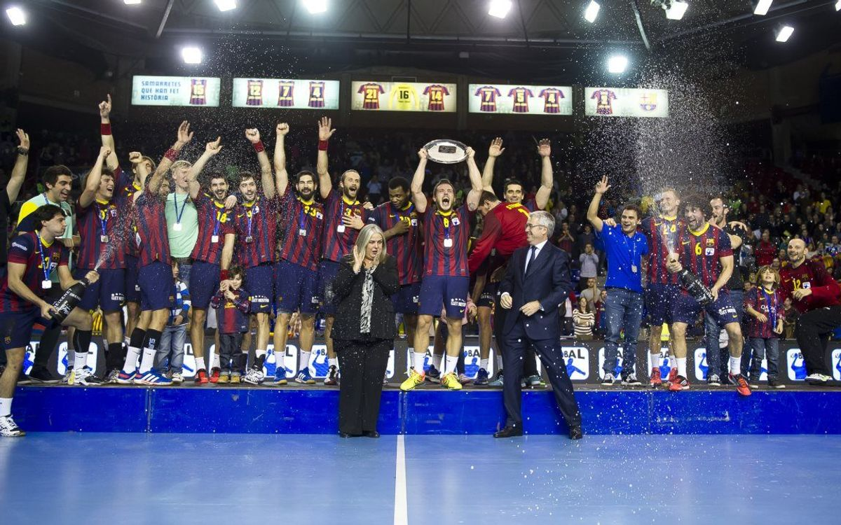 FC Barcelona - Fraikin Granollers: The Asobal Cup will stay in Barcelona! (34-28)