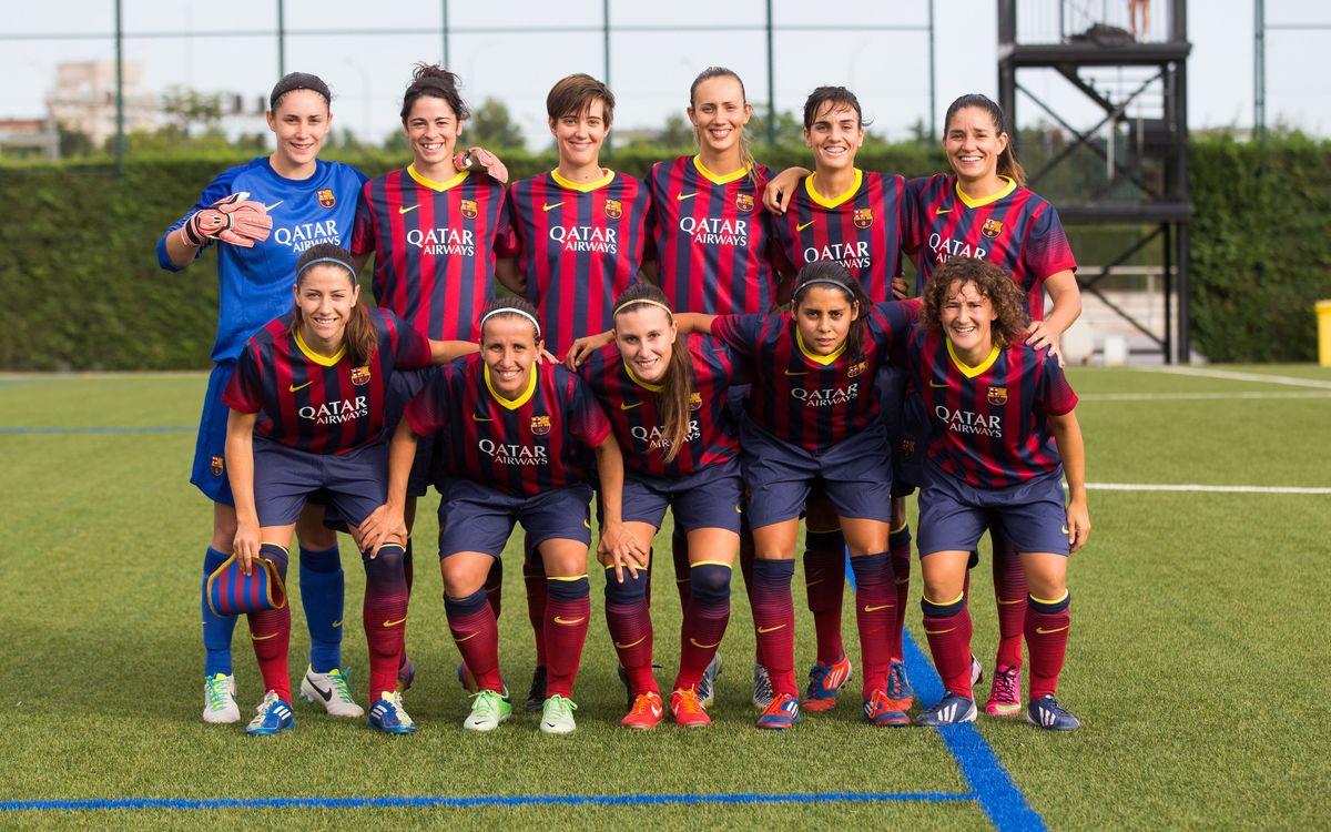 El Barça Femení tanca la plantilla