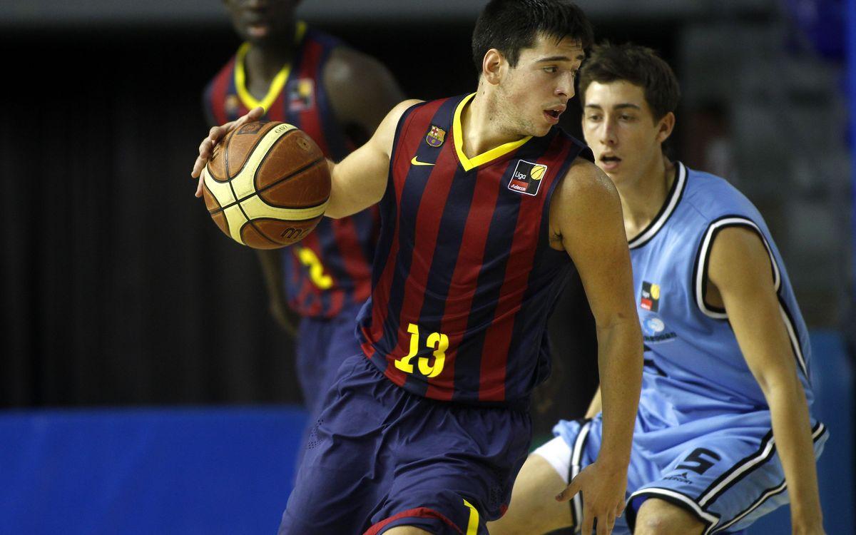 FC Barcelona B – CB Breogán Lugo: Amb marge de millora (55-71)