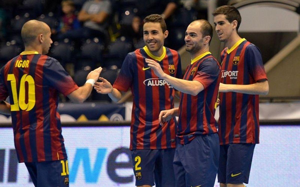 El Barça Alusport ha fet 101 gols a la màxima competició europea