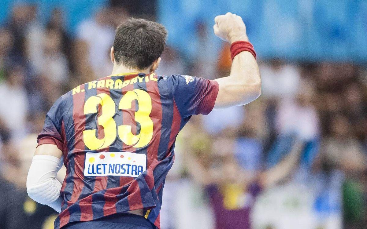 CD Bidasoa v FC Barcelona: Comfortable win in Irun (22-34)