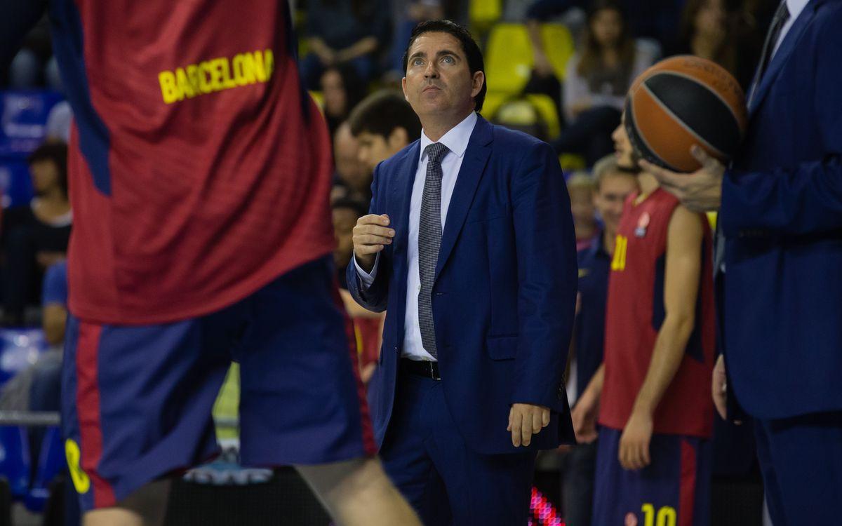 """Xavi Pascual: """"Hem perdut la personalitat en el joc"""""""