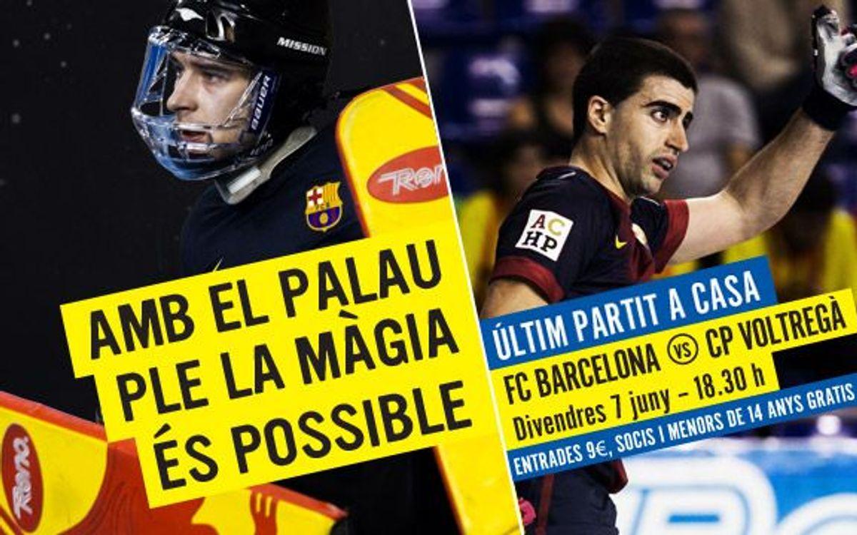 FC Barcelona-CP Voltregà: Guanyar, pressionar i somiar