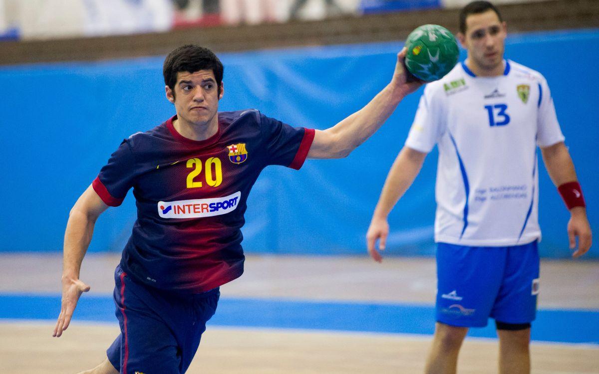 El FC Barcelona B d'handbol 2013/14
