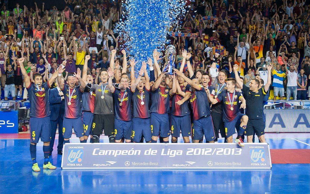 FCB Alusport – ElPozo Murcia: Champions of the league! (4-3)