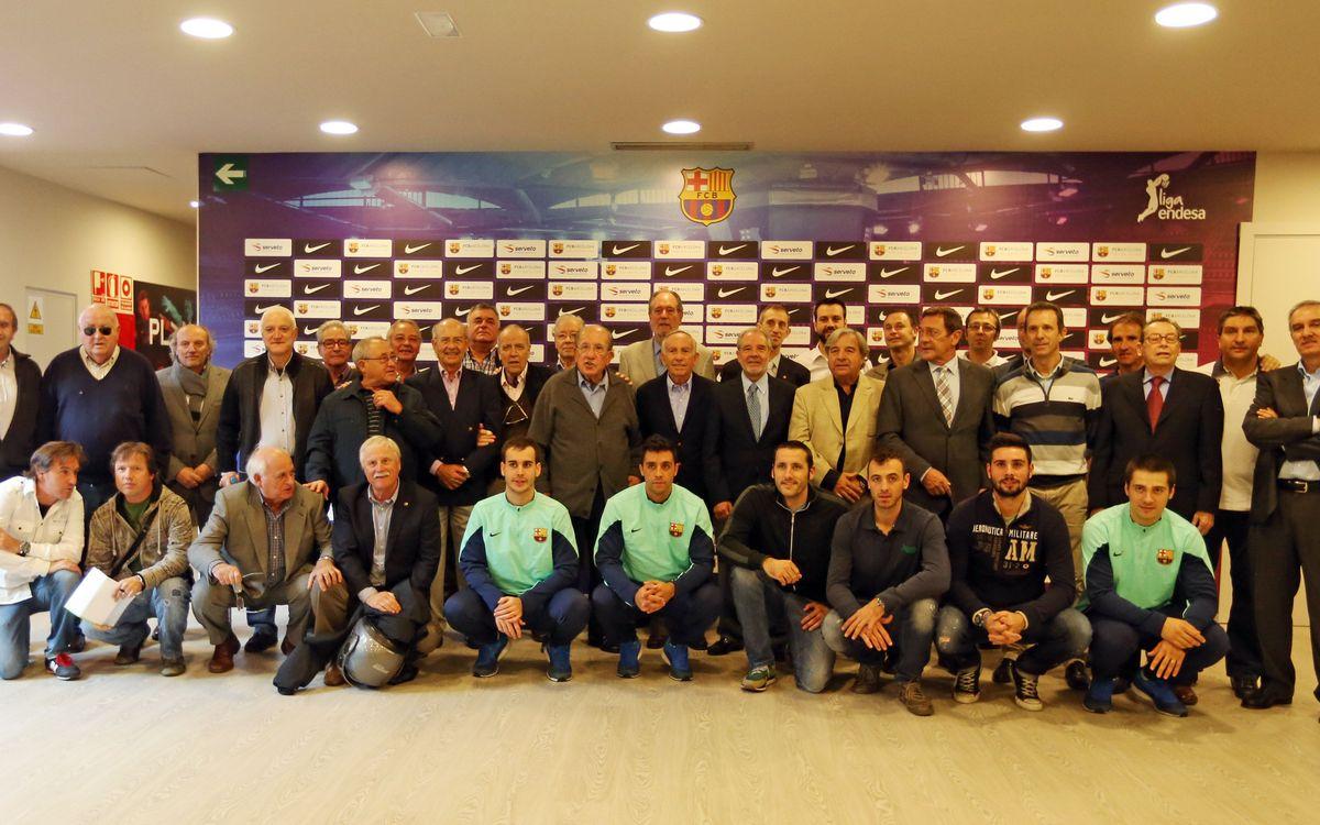 Es presenta l'Associació de Veterans del Barça d'hoquei patins