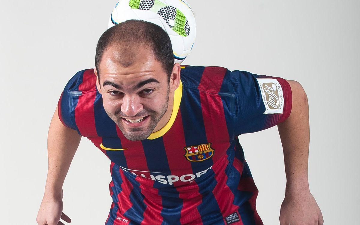El Barça Alusport i la clàssica sessió de fotos del departament de màrqueting