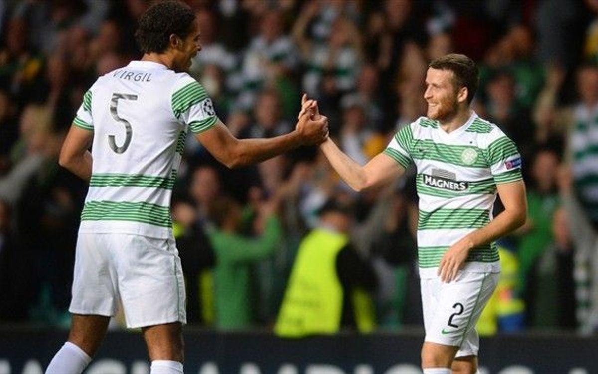 El Celtic, rival del Barça a la Champions, més líder de la Scottish Premier League (2-0)