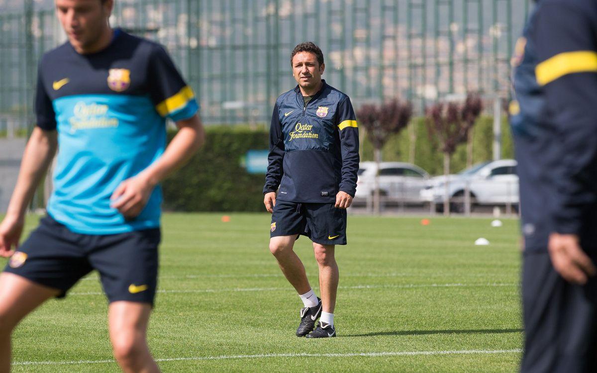 """Eusebio: """"Volem guanyar l'últim partit al Mini"""""""