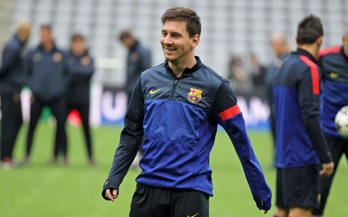 Leo Messi cleared to play against Bayern Munich