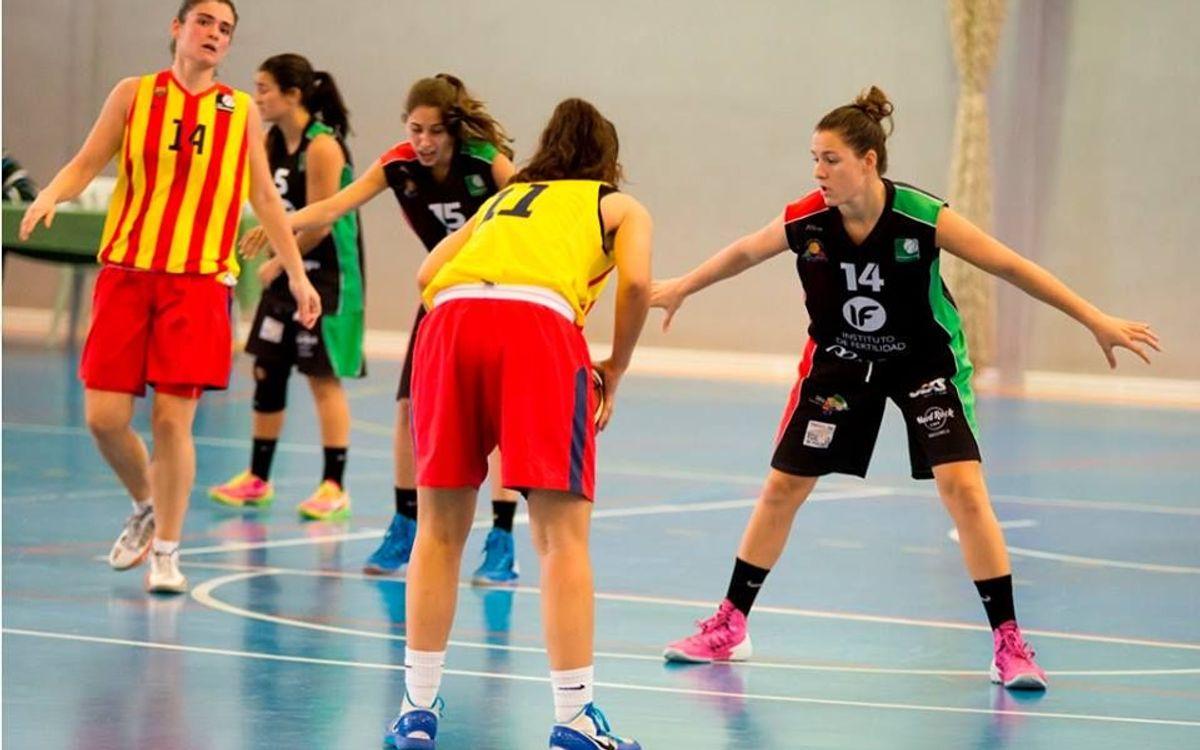 Primer triomf del bàsquet femení (41-64)