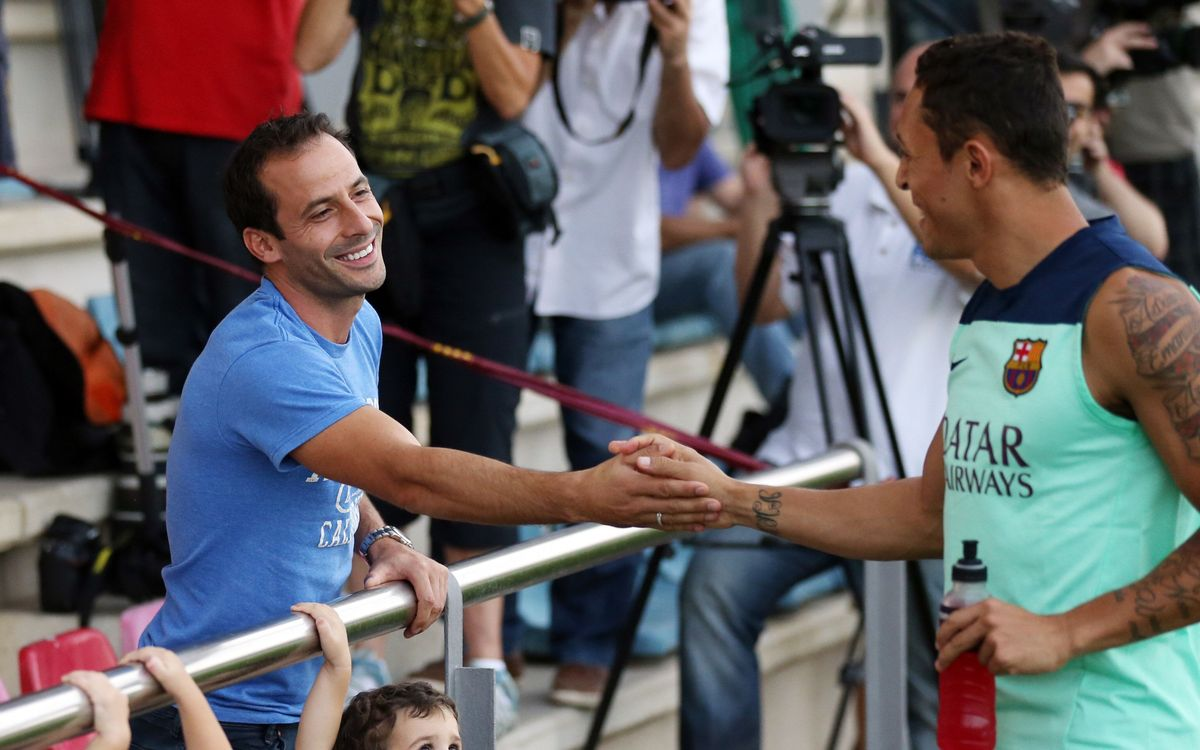 """Ludovic Giuly: """"Now I'm happy to watch Messi, he's phenomenal"""""""