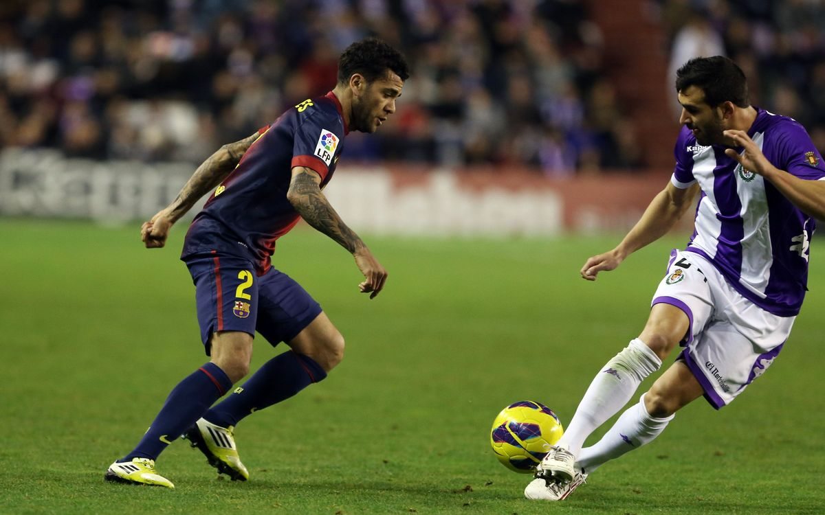 FC Barcelona v Valladolid, Sunday 19 at 21.00