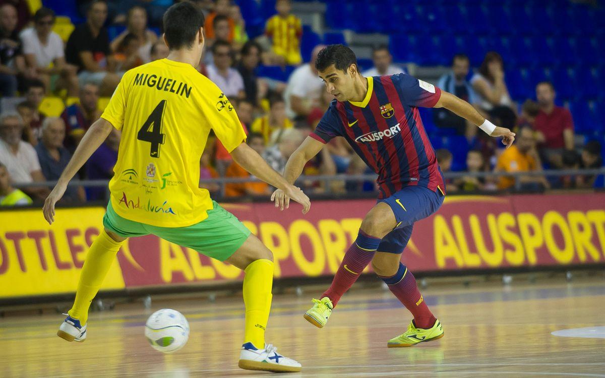 Gabriel, dubte per al partit contra el Santiago Futsal