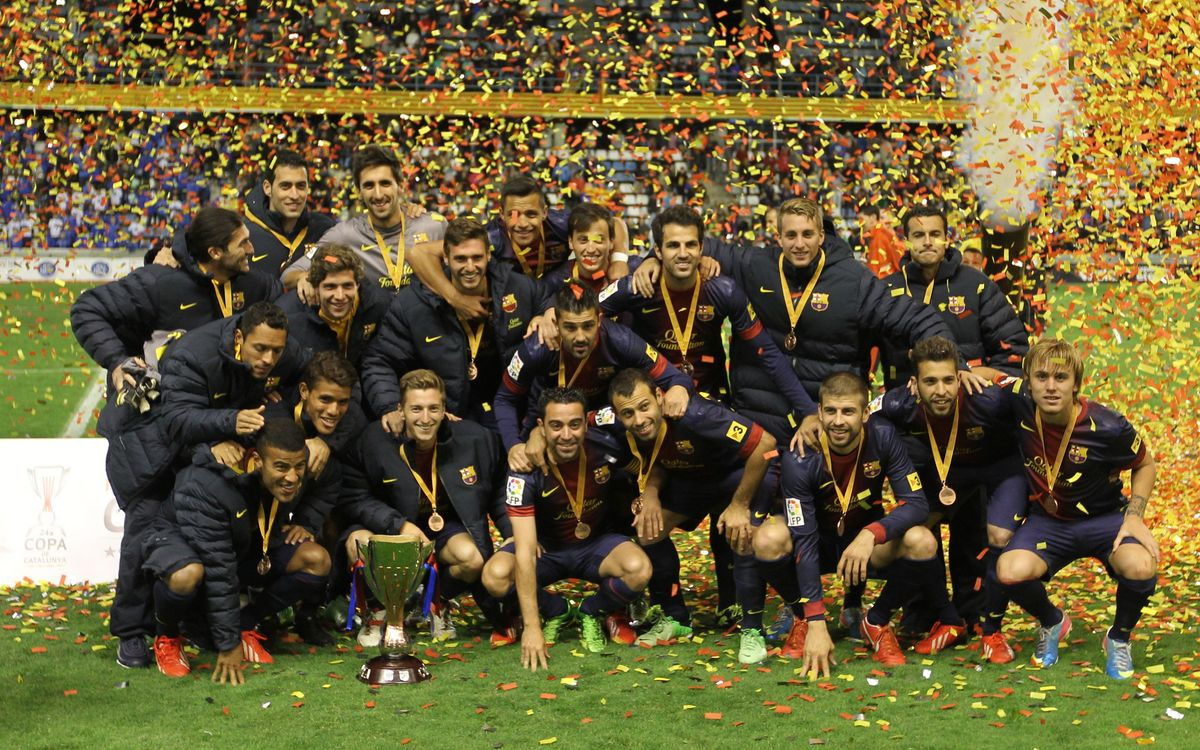 FC Barcelona are champions of the Copa Catalunya (1-1)