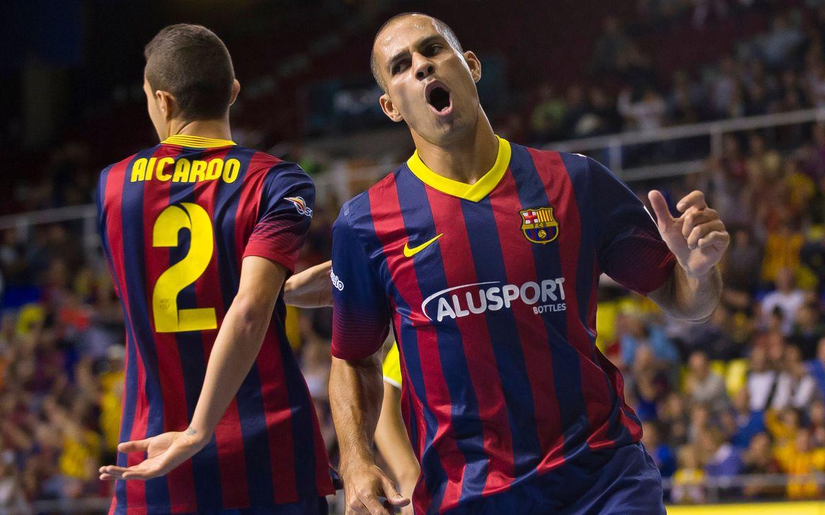 FC Barcelona Alusport - Hospital Llevant Manacor: Set en blanc (6-0)