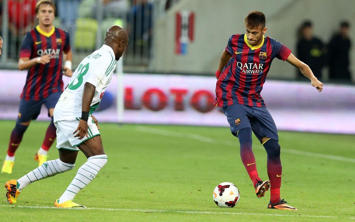 "Neymar: ""Tata Martino has confidence in me"""