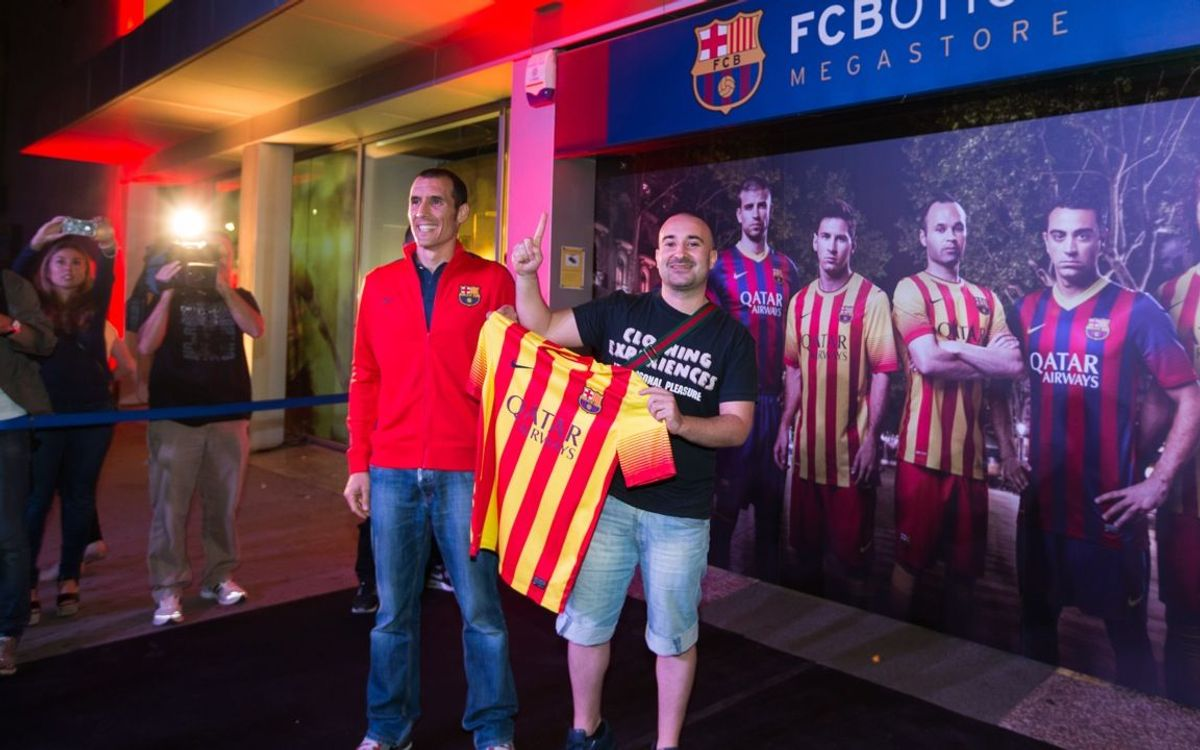 FC Barcelona away kit goes on sale at the FCBotiga Megastore