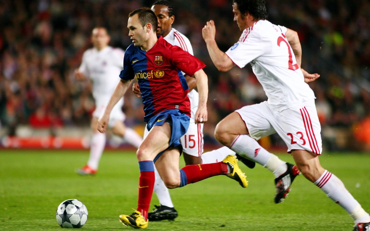 Bayern Munich v FC Barcelona . Did you know?