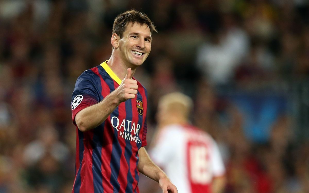Messi becomes first player to score 4 hat tricks in the Champions League