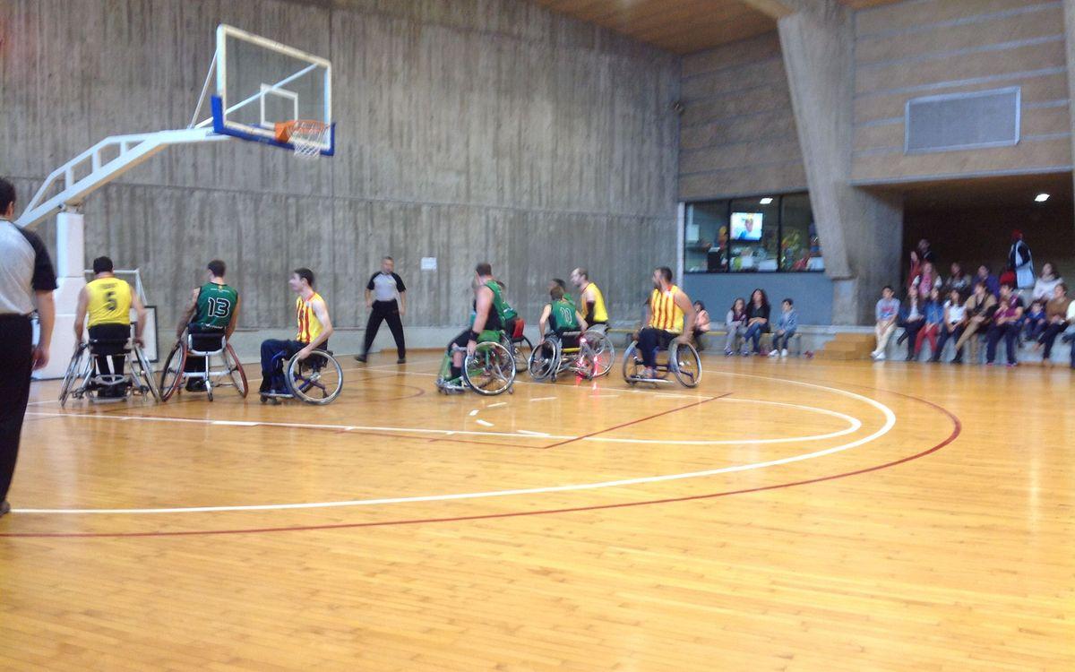 Derrota dolorosa del bàsquet en cadira de rodes (70-23)