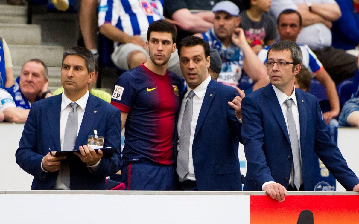 """Ricard Muñoz: """"No es pot retreure res a l'equip perquè ha fet un esforç extraordinari"""""""