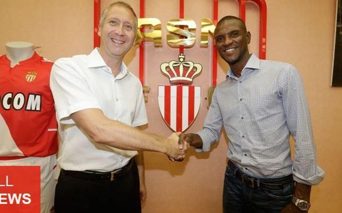 Éric Abidal joins Monaco